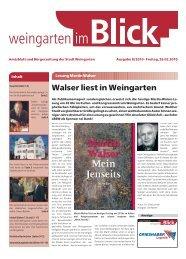Ausgabe 8/2010 - Weingarten im Blick