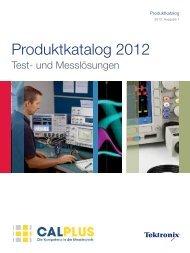 Produktkatalog 2012 - CalPlus GmbH