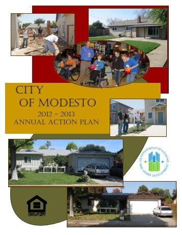 Annual Action Plan 2012-2013 - City of Modesto