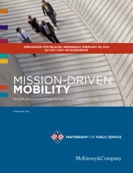 Mission-Driven MOBILITY - Federal News Radio
