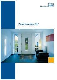 Zamki drzwiowe SSF - Winkhaus Polska
