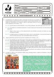 7º UNIDADE II HISTÓRIA MÔNICA NUNES