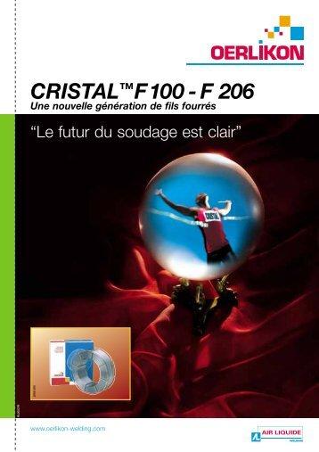 CRISTAL™F100 - F 206 - Air Liquide Welding