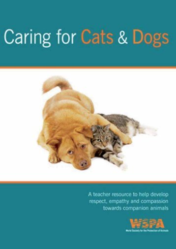 Caring for Cats and Dogs - WSPA