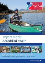 Impact report Adroddiad effaith - WCVA