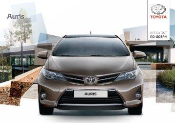 Продуктов каталог Auris - Toyota