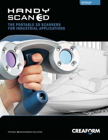 Portable 3D scanners: Handyscan 3D Brochure - Epsilon NDT