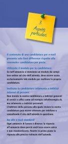 Candidatura elettronica - Area Lavoro - Page 4