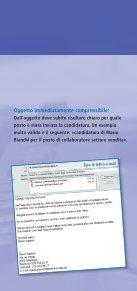 Candidatura elettronica - Area Lavoro - Page 5