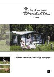 2005 ... elegante og gennemsolide fortelte til din campingvogn