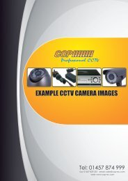 Example CCTV camera images - 2MB