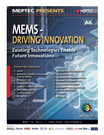 MEMS - DRIVING INNOVATION Existing Technologies ... - Meptec