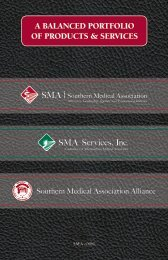 a balanced portfolio of products & services - Southern Medical ...