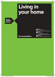 What is a lease? - Tower Hamlets Homes
