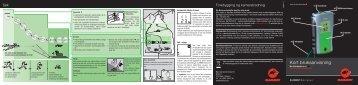 Mammut ELEMENT Barryvox® Kort bruksanvisning