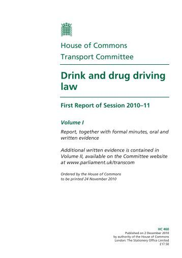 literature review drinking and driving This review examines the 1981 to 1998 literature on driving related behavior primarily under low bacs the behavioral response categories have been organized in a form slightly different from that used by moskowitz and robinson (1988).