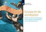 Europa en de architecten (.pdf) - Steunpunt Ontwerpwedstrijden