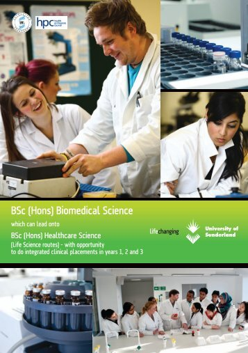 BSc (Hons) Biomedical Science - Study in the UK