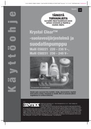 suodatinpumppu - Intex Nordic