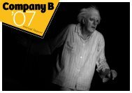 Company B Annual Report 2007 - Belvoir St Theatre