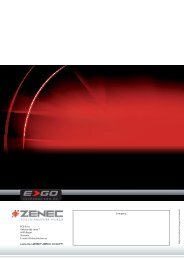 ACR Zenec E>GO NC3810 letak v slovenščini - Avto.info