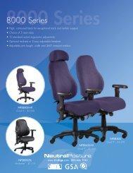 Neutral Posture 8000 Series Brochure (PDF) - Ergoware