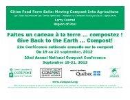 Larry Conrad, Region of Peel - Compost Council of Canada