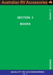 Section 3 - Books - Award RV Superstore