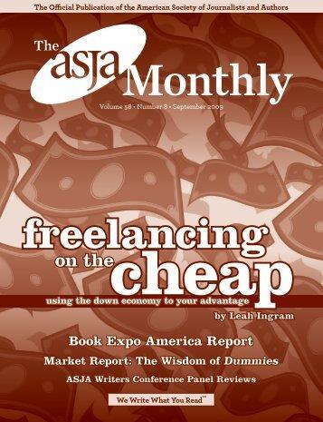 September 2009 - The ASJA Monthly