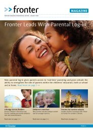 Download PDF Fronter Leads With Parental Log In