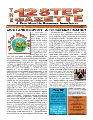 MUSIC AND RECOVERY - A PERFECT ... - 12 Step Gazette