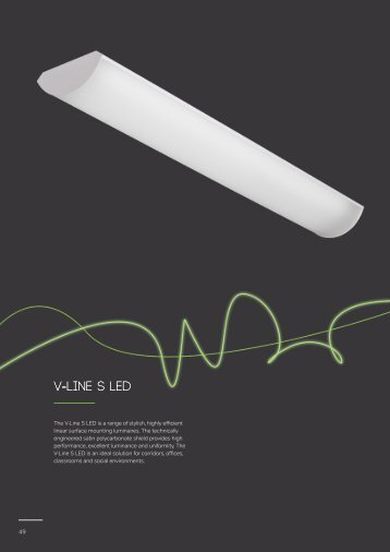 V-Line S LED - Apollo Lighting Ltd