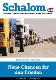 Neue Chancen für den Frieden - Österreichisch-Israelische ...