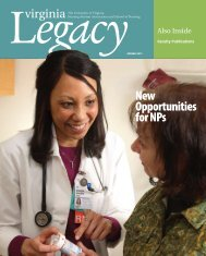 New Opportunities for NPs - School of Nursing - University of Virginia