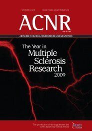 Multiple Sclerosis Research - ACNR