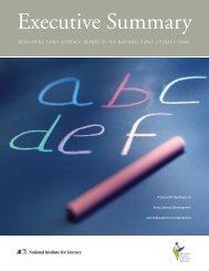 Executive Summary - Developing Early Literacy - LINCS - U.S. ...