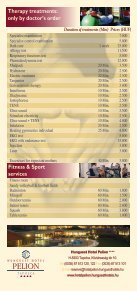 Duration Of Treatments (Min) Prices (HUF) - Hunguest Hotels - Page 2