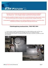 Viskokupplung M62 B44 - BMW E39-Forum