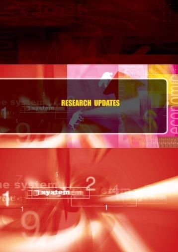 RESEARCH UPDATES - UPM :: Fakulti Ekonomi dan Pengurusan