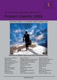Product Liability 2008 - Walder Wyss Ltd.