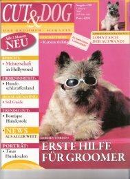 Artikel Zeitschrift CUT&DOG, Heft 4/08