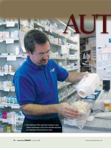 Automatic Decision—January 2008 - Pharmacist eLink