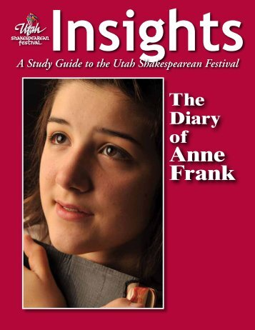 The Diary of Anne Frank - Utah Shakespearean Festival