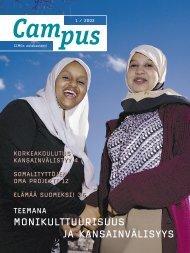 Campus 1/2002 - CIMO Kansainvälisen liikkuvuuden ja yhteistyön ...