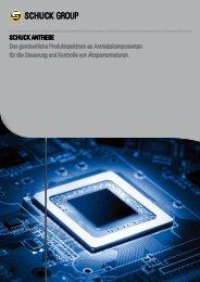 Produktspektrum Antriebe - Franz Schuck GmbH