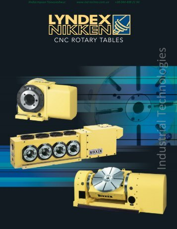 Nikken Rotary Table Flyer - Industrial Technologies