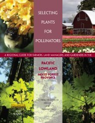 Selecting Plants for Pollinators - Pollinator Partnership