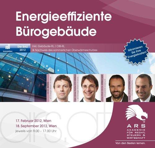 Energieeffiziente Bürogebäude - e7 - Energie Markt Analyse