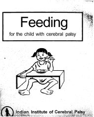 Feeding for the child with cerebral palsy - Source