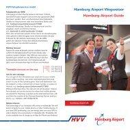 Hamburg Airport Wegweiser Hamburg Airport Guide - HVV